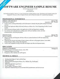 sample resume software engineer software engineer resume sample