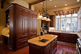 kitchen kitchen paint colors with dark cabinets red kitchen