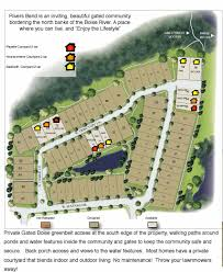 Boise Greenbelt Map Rivers Bend Community U2013 Private Gated Community Next To The Boise