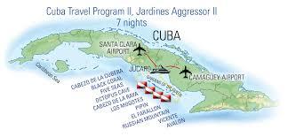 Cuban Map Liveaboard Scuba Dive Yachts Vacations U0026 Trips Aggressor Fleet