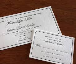 Wedding Invitation Design Traditional Wedding Invitation Designs Letterpress Wedding