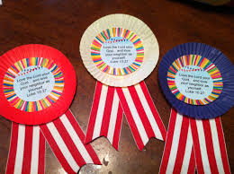 fair ribbons for anywhere fun fair vbs made out of cupcake liners