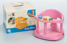 baby bath tub ring seat infant toddler keter pink made in