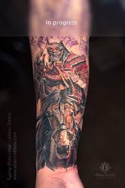 samurai warrior tattoo by sunny bhanushali aliens tattoo