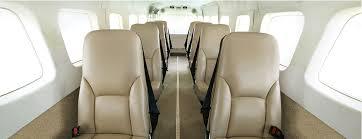 Airplane Interior Cessna Grand Caravan Ex Turboprop Aircraft Interior Options
