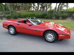 1986 corvette review sold 1986 chevrolet corvette indy pace car convertible bright