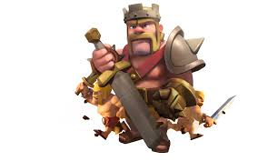 coc wallpaper image gallery of clash of clans barbarian king and archer queen