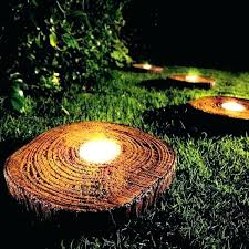 amazing outdoor solar lighting or solar powered led rock lamp 89