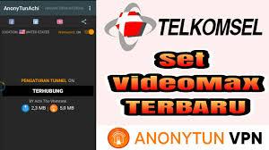 spoof host ssl anony tun achi set anonytun terbaru videomax telkomsel youtube