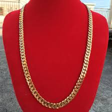 2015 men s jewelry 8mm 60cm new arrival power necklaces 24k gold chain men suppliers best 24k gold chain men