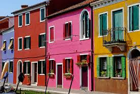 Burano Italy Burano Italy Houses Photograph By John Gilroy