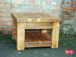 wood plank coffee table rustic plank pine coffee tables by incite interiors derby