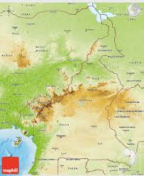 Physical Africa Map by Physical 3d Map Of Cameroon