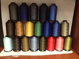 Upholstery Thread 92 Bonded Thread For Marine Upholstery Leather 4oz Ebay