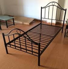 black iron home full size metal beds bedroom furniture with white