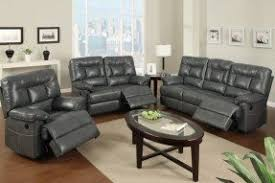Gray Leather Sofa And Loveseat Reclining Leather Sofa And Loveseat Set Foter