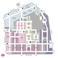 The O2 Floor Plan by Store Guide Harrods Com