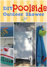 How To Build An Outdoor Shower Enclosure - 15 best outdoor showers images on pinterest outdoor showers