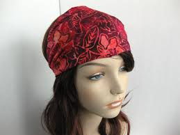 women s headbands flower batik fabric headband hair wrap women s