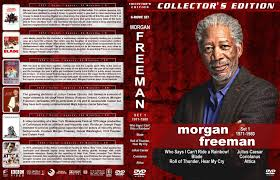 morgan freeman film collection set 1 dvd covers 1971 1980 r1