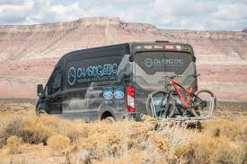 ford transit off road inside chasing epic mtb adventure u0027s ford transit van
