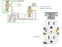 wiring diagram for outlet switch combo wiring wiring diagrams