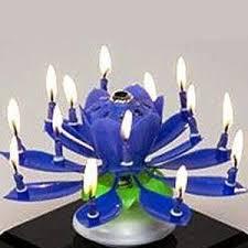 amazing happy birthday candle liroyal the amazing happy birthday candle novelty blooming