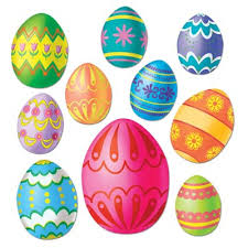 Easter Egg Decorating Kit Australia by Easter Egg Cut Outs In Assorted Sizes Pack Of 10 Party