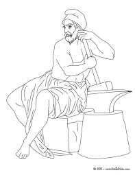 hephaestus the greek god of fire coloring pages hellokids com