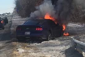 2015 Gt Mustang Black Car Crash Of The Week 2015 Mustang Gt Bursts Into Flames