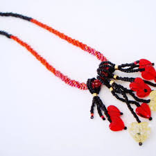 black beaded rope necklace images Shop seed bead rope necklace on wanelo jpg