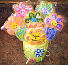 Cookie Bouquets Homemade Creations Gift Cookie Bouquets