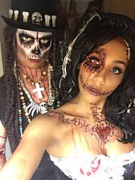 Halloween Mummy Makeup Ideas Voodoo Priest U0026 Voodoo Doll Papa Legba Halloween Costume Sfx Skull