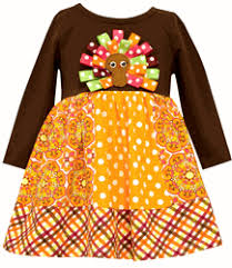 Thanksgiving Dress Baby In Fashion