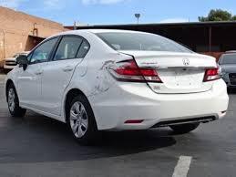 2014 honda civic lx sedan salvage wrecked repairable priced to