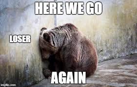 sad bear memes imgflip