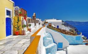 happy thanksgiving in greek santorini oia greece oia santorini wallpapers pictures photos