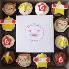 curious george cupcakes curious george cupcakes chocolate cupcakes frosted with ch flickr