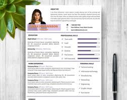 8 page exclusive resume template cover letter references