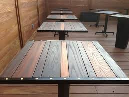 Acrylic Patio Table Tops Popular Table Tops Throughout Cherry Tabletop Customize Order