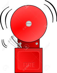 bell rings red images Red fire alarm goes off and rings the bell royalty free cliparts jpg