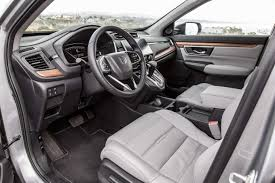 honda crv 2016 interior 2017 honda cr v touring awd first test motor trend