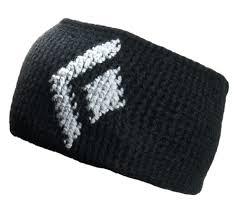 black headband icon headband black diamond gear