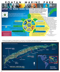Roatan Map Roatan Dive Guide Edition 2 1 60 Of Roatan U0027s Most Popular Dive