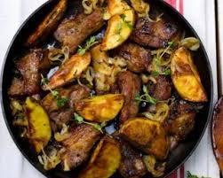 cuisiner sauté de porc recette de sauté de porc maigre aux pommes de terre et aux oignons