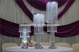 Lighted Pedestal Stands Gold Lighted Wedding Flower Pedestal Stands For Flowers Buy
