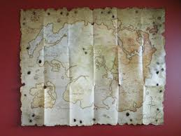 Map Of Nirn Tes Online Collector U0027s Map Map Of Tamriel Teso The