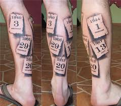 tattoo on leg for men tattoos for men