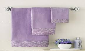 stylish purple bath towel sets lavender bathroom ideas lavender
