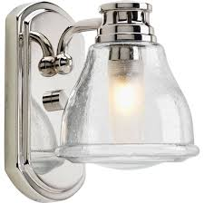 Chrome Bathroom Lights by Progress Lighting Academy Bath And Vanity Clear Seeded Polished